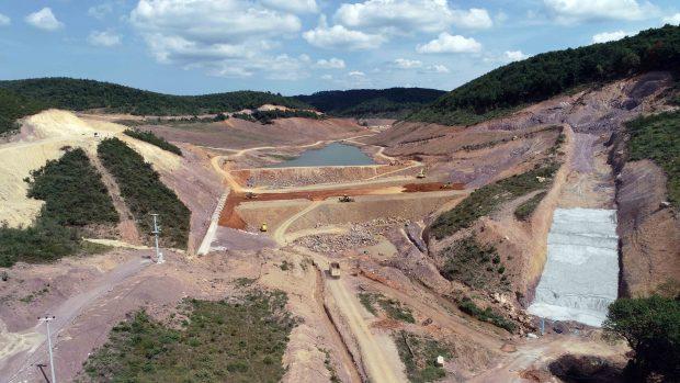 Gebze Kovalıdere Göleti'nde  Su Tutulmaya Başlandı
