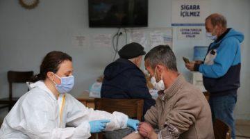 Konaklama Merkezindeki misafirler sağlık taramasından geçildi