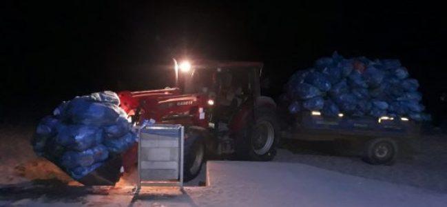 5 sahilden 835 ton çöp