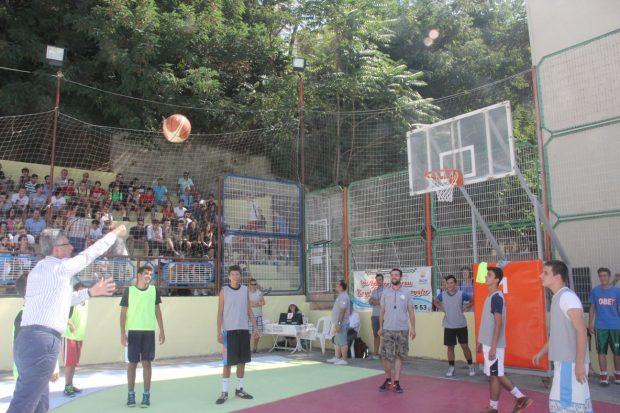 Sokak Basketbol Turnuvası Başlıyor