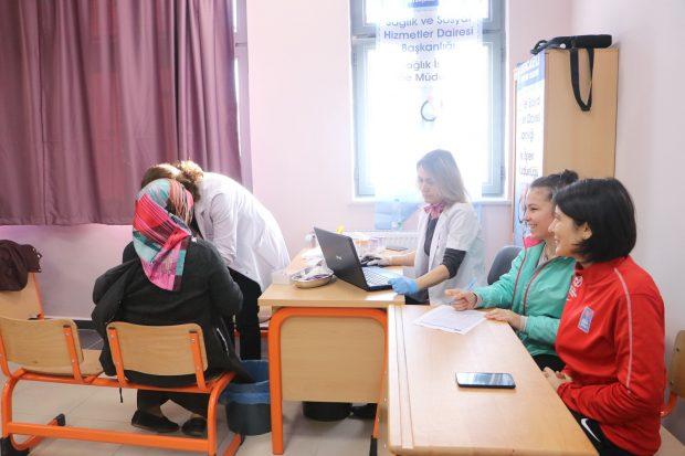 Spor yapan kadınlara ücretsiz sağlık taraması