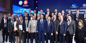 Bulut, Türkiye-Kırgızistan İş Forumu'na katıldı