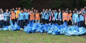Dünya ile eş zamanlı olarak çöp toplama etkinliği