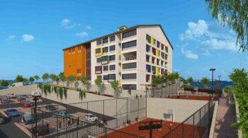 Gebze Gençlik Merkezi' nin inşaatı hızla devam ediyor.