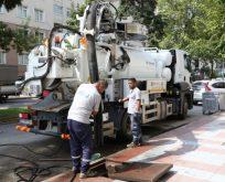 Ani yağışlara karşı geniş çaplı temizlik
