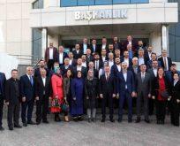 AK Parti il yönetiminden Büyükakın'a ziyaret