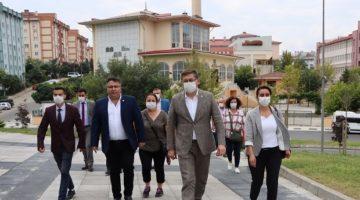 Muhtarlık ziyaretlerine Çayırova'da devam ettiler