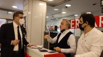 CHP Kocaeli esnafın sorunlarını dinledi