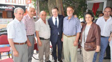 Türkkan'dan bayram ziyaretleri