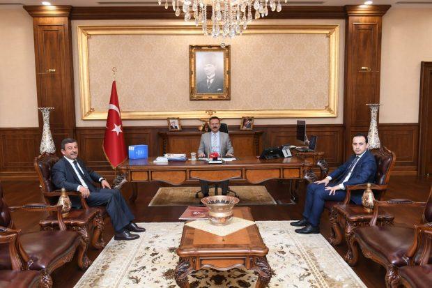Karabacak, Vali Aksoy'u Ziyaret Etti
