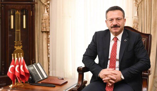 Vali Aksoy,14 Mart Tıp Bayramı'nı kutladı