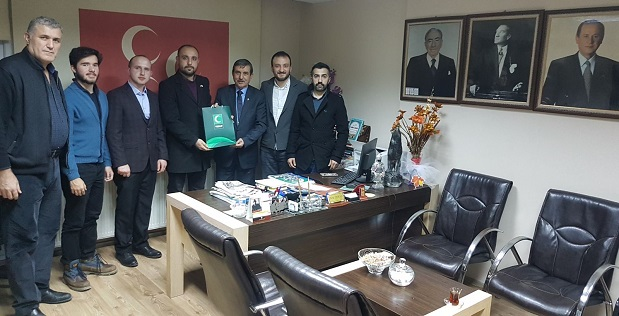 Gebze Yeşilay'dan MHP'ye Ziyaret