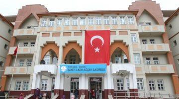 Şehit Ağçay'ın adı okuduğu okula verildi.