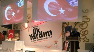 AK Parti İl Kadın Kolları'ndan  İlk Yardım Eğitimi