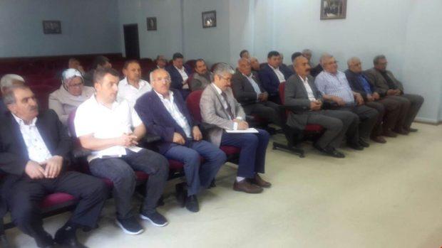 Gebze'de Muhtarlar Toplantısı