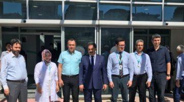 Kaymakam Güler fatih Devlet Hastanesini Ziyaret Etti
