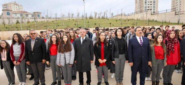 Kaymakam Güler Mehmet Tuğrul Tekbulut Lisesi'nde