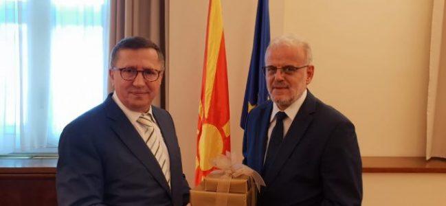 Türkkan İYİ Parti Heyeti İle Makedonya'da