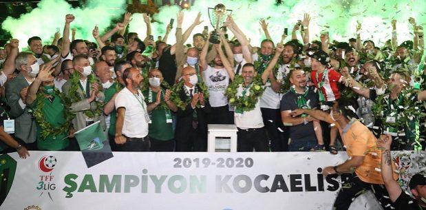 Şampiyon Kocaelispor