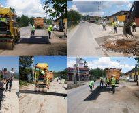Kırsal mahallerde üst yapı çalışmaları hız kesmiyor