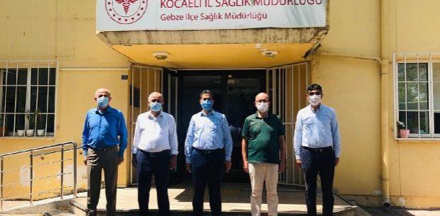 Sağlık Müdürü Kadıoğlu'na ziyaret