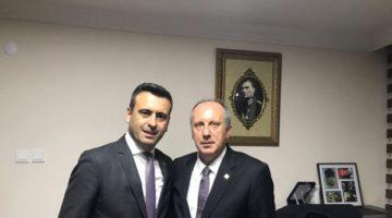 CHP Darıca'dan Muharrem İnce'ye Destek
