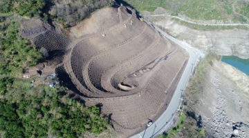 Baraj çevresine 4 bin 500 ağaç