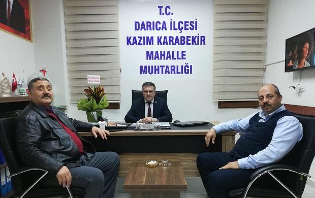 Erzurumlular Vakfı'ndan  Muhtar Topal'a Ziyaret