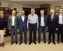 Karaosmanoğlu,Duyar ve yönetimini ağırladı