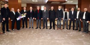 Karaosmanoğlu, Kocaeli Giresunlular Federasyonunu Ağırladı