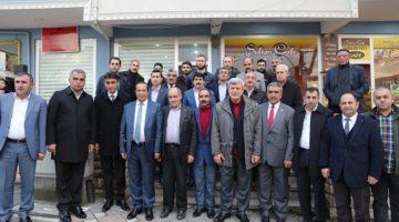 Karaosmanoğlu, Dilovası ziyaretinde.