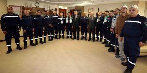 Filistinli İtfaiyeciler, Başkan Karaosmanoğlu'na konuk oldu