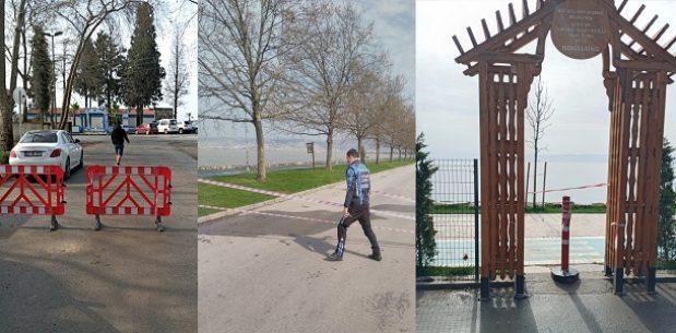 Sahil kesimleri ve parklardaki denetimler sürüyor