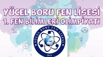 Yücel Boru Fen Lisesi'nden  Fen Bilimleri Olimpiyatı