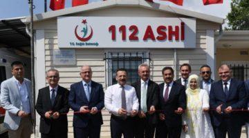 Gebze 4 Nolu Acil Sağlık Hizmetleri İstasyonu açıldı