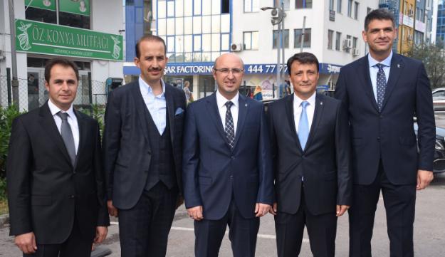 Ak Partili Başkan Adayları Ankara'ya Gitti