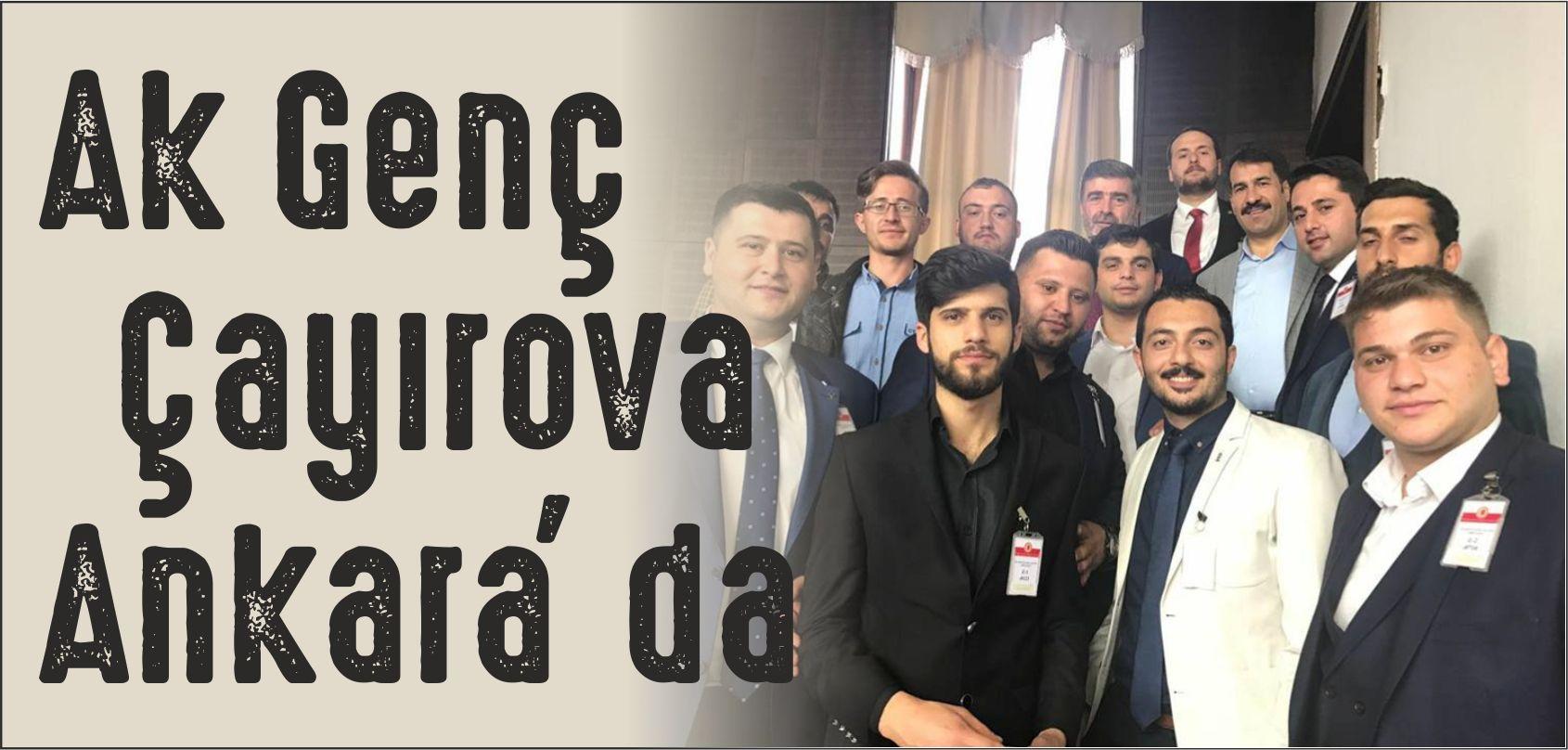 Ak Genç Çayırova'dan Ankara Çıkarması
