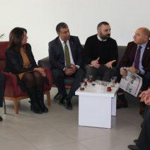 Tarhan ve CHP Çayırova'dan Gazetemize Ziyaret