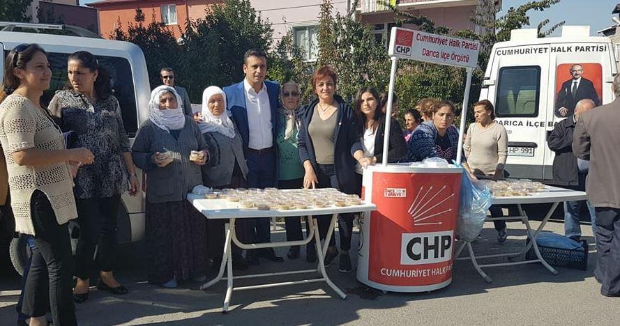 CHP Darıca'dan Aşure Etkinliği