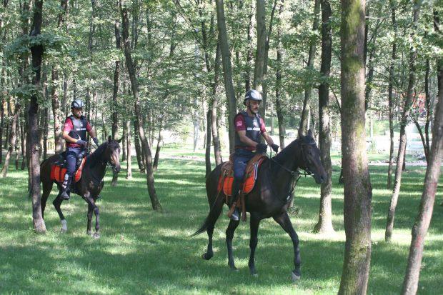 Atlı güvenlik birimi kuruldu