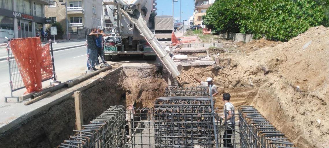 Çayırova'ya yaya köprüsü yapımına başlandı