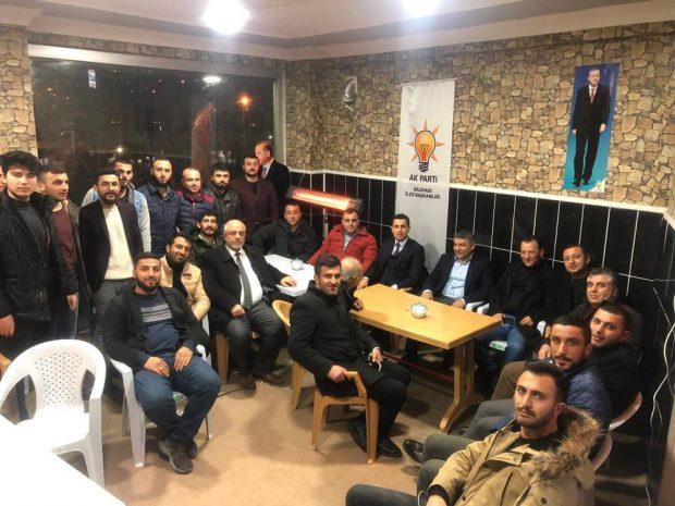 Şayir'den seçim bürolarına ziyaret