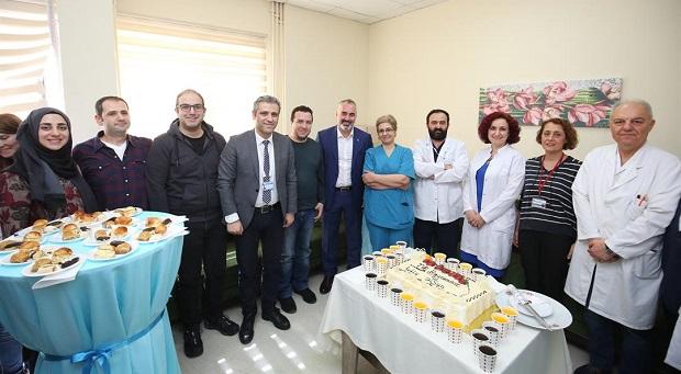 Başkan Yıldırım, Doktorların 14 Mart Tıp Bayramını kutladı.