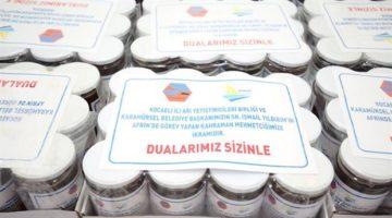 Karamürsel'den Afrin'e 'Bal'