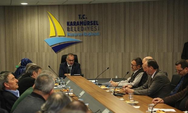 Karamürsel'de 2018 Yılının ilk Meclis Toplantısı Yapıldı