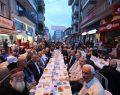 FSM Bulvarı esnafından geleneksel iftar