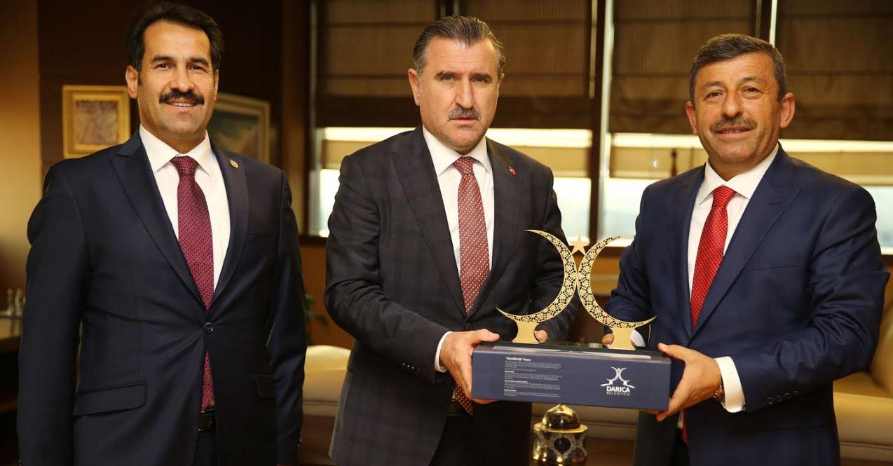 Spor Bakanı Darıca'ya Müjdeyi Verdi