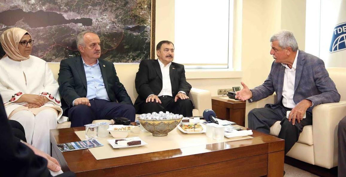 Bakan Veysel Eroğlu Kocaeli'de