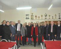 Çetinkaya Gebze Balkanspor'u Ziyaret Etti