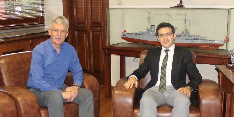 Başsavcı'dan Başkan Ellibeş'e Ziyaret